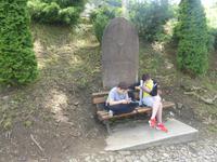 Rumänien Mai 2019 - Sighisoara / Schäßburg - Friedhofsszene