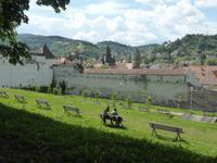 Rumänien Mai 2019 - Brasov - inmitten der grünen Wälder Transylvaniens