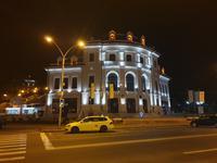 Piatra Neamt - Theater am Abend