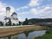 Sighisoara - Kathedrale am Fluss
