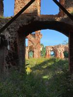 Neman: Ruine der Ordensburg