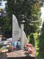 Novodevichy Friedhof: Grab der Darstellerin der Anna Karenina