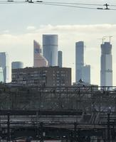 Moskau: Wolkenkratzer in der Moskau City