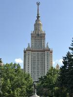Moskau: Hauptgebäude der Lomonossow-Universität