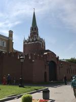 Moskau: An der Kremlmauer