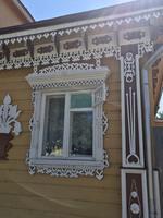 Susdal: Details an den Häusern der Stadt