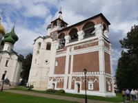Susdal. Erlöserkloster. Der Glockenturm.
