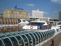 Moskau, Start zur Schifffahrt