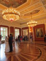 im Schloss Zaryzino