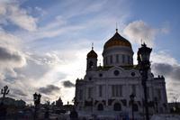 Christi-Erlöser-Kathedrale - Blick von Patriarchen-Brücke