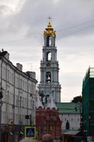 Stadtrundgang in Sergiew Possad - Blick in Richtung Dreifaltigkeitskloster
