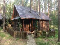 auch in einer Blockhütte durften wir wohnen - sehr gemütlich