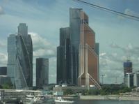 Stadtrundfahrt - Skyline von Moskau