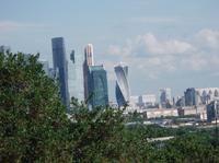 Moskau Skyline