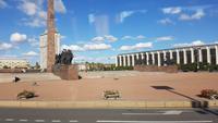 St. Petersburg, Moskauer Prospekt, Denkmal für die Belagerung