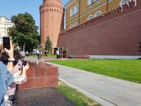 Moskau, Kremlmauer, Grab des unbekannten Soldaten