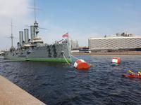 St. Petersburg, Panzerkreuzer Aurora