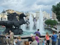 Wasserspiele im Alexandergarten