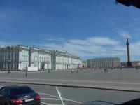 Rußland, St. Petersburg, Schloßplatz