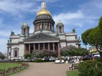 Rußland, St. Petersburg, Isaak Kathedrale