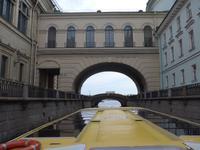 Rußland, St. Petersburg, Fahrt durch die Kanäle