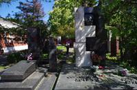Nikita Chrutschew-Grab auf dem Nowodewitschi-Friedhof