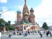 Moskau: Basilius-Kathedrale