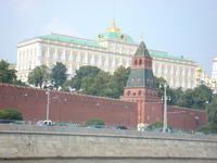 Moskau: Kreml von der Moskva aus