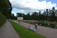 St. Petersburg - Puschkin, Garten des Katharinenpalastes