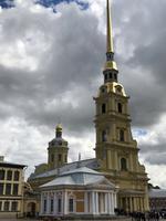 St. Petersburg: In der Peter-Paul-Festung, die Kathedrale