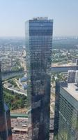 Moskau, Moscow City, Blick vom Federation Tower