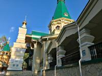 Auf dem Weg in den Ural: Ganina Jama, der Wallfahrtsort