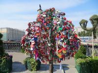 Moskau, Hochzeits-Schlösser-Baum