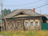Dorfszene im Ural