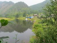 an der Trasse der Baikalbahn