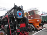 Novosibirsk, Eisenbahnmuseum