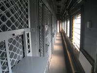 Häftlingswaggon im Eisenbahnmuseum