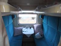 Im Zug nach Ekaterinburg