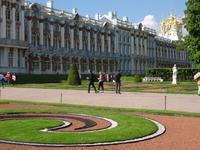 Katharinen-Palast in Puschkin, Blick vom Garten