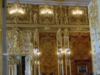 Katharinen-Palast in Puschkin , erster Blick ins Bernsteinzimmer
