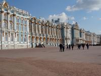 Katharinenpalast von der Eingangsseite