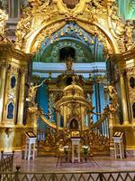 2. Tag Stadtrundfahrt - In der Peter-Paul-Kathedrale