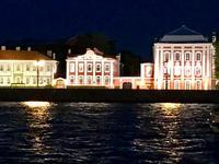 2. Tag St. Petersburg bei Nacht - Blick auf die andere Newa-Seite