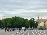 3. Tag Besuch der Eremitage - Auf dem Schlossplatz