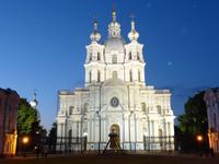 Lichterfahrt , Smolny Kloster