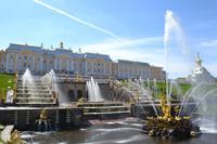 Die große Kaskade in Peterhof