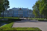 Rückseite des Katharinenpalastes