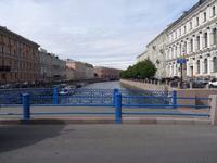 die blaue Brücke = größte Kanalbrücke