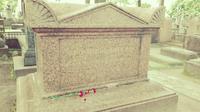 die Ruhestätte des Mathematikers Leonhard Euler