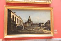 Canaletto: Der Neumarkt in Dresden
